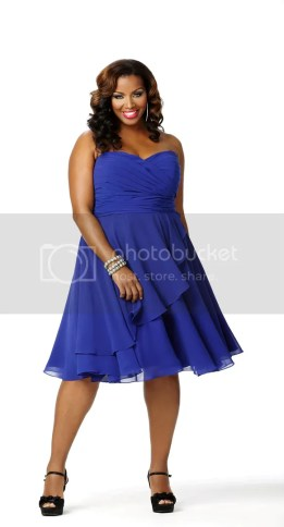 Celebrations Women's Plus Size Jillian Cocktail Dress