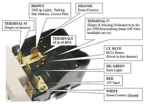 Chevy Gm Gmc Pontiac Cadillac Headlight Switch Headlamp Light Bulb Control Hs09 | eBay