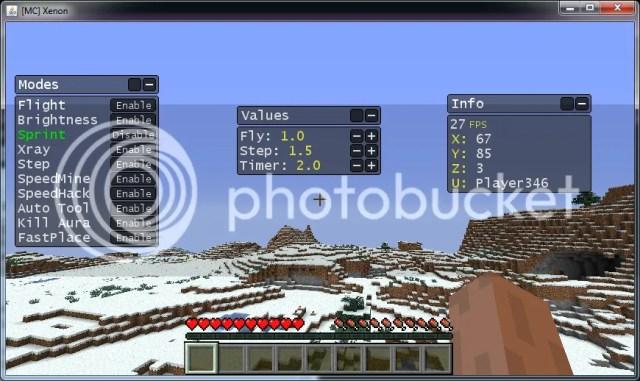 Скачать minecraft hack v1.0