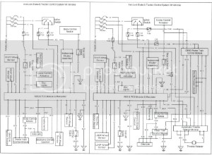 diagram for the traction control button wiring loom | Just