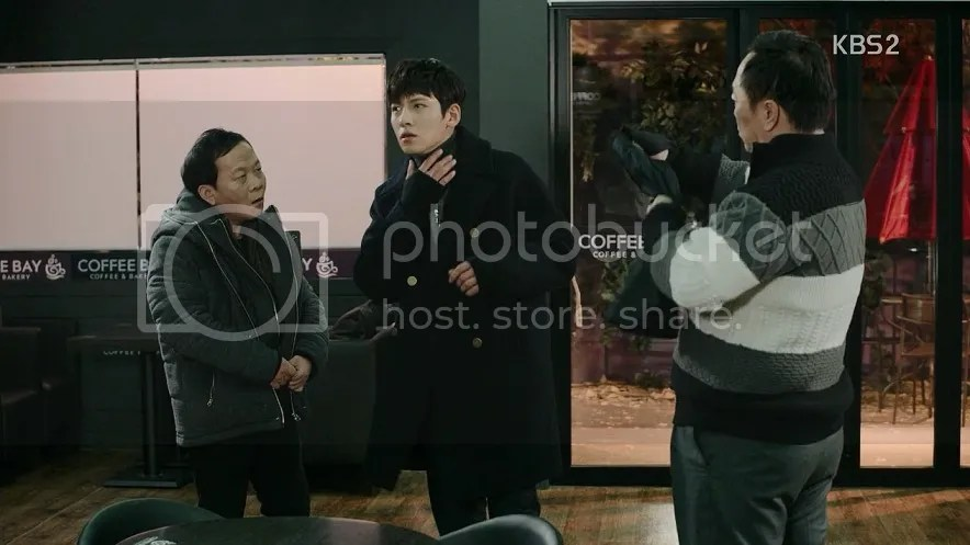 Healer ep 18 Jung Hoo confronts Young Shin's dad to ask for permission