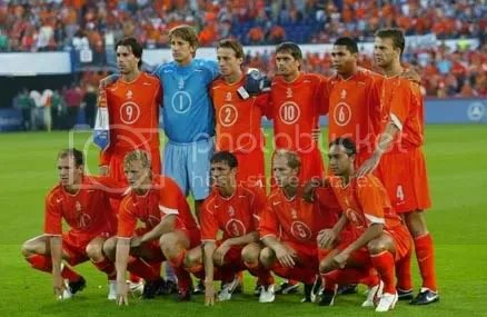 Picture of the Dutch Football Squad