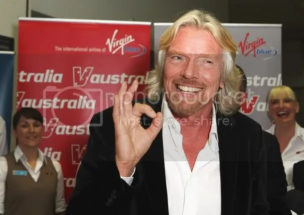 Richard Branson, billionaire