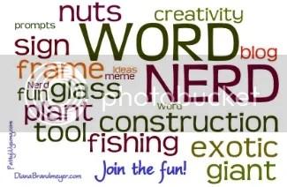 Word Nerd blog hop at Patterings.