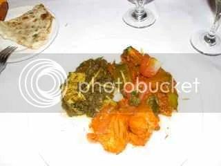 Indian Buffet Main = 737 calories estimate!