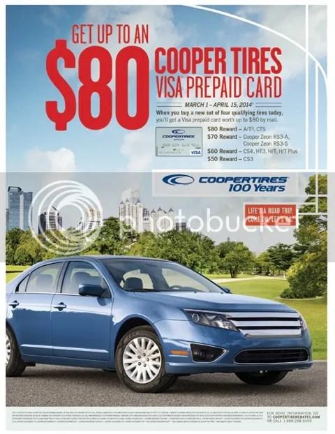 Cooper Tires Rebate 2014