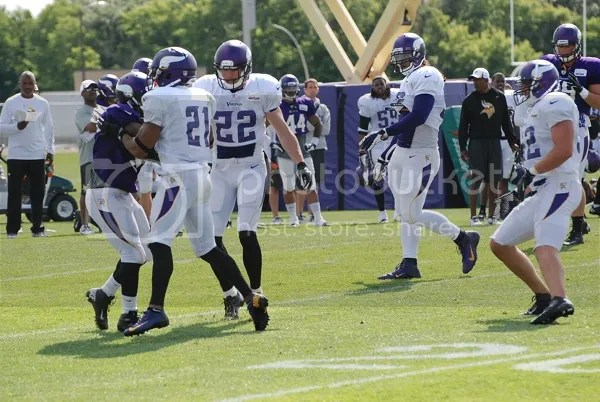 2013 Minnesota Vikings Training Camp Access Day 2 | The Sports Daily