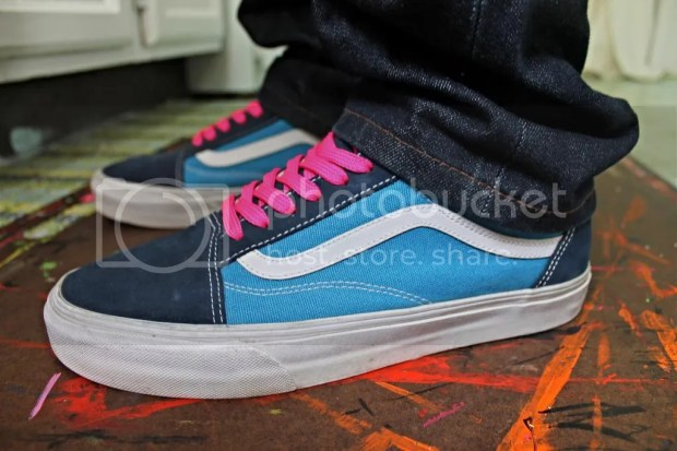 tmrsn - Skateboarder Magazine Old Skool Navy/Sky Blue