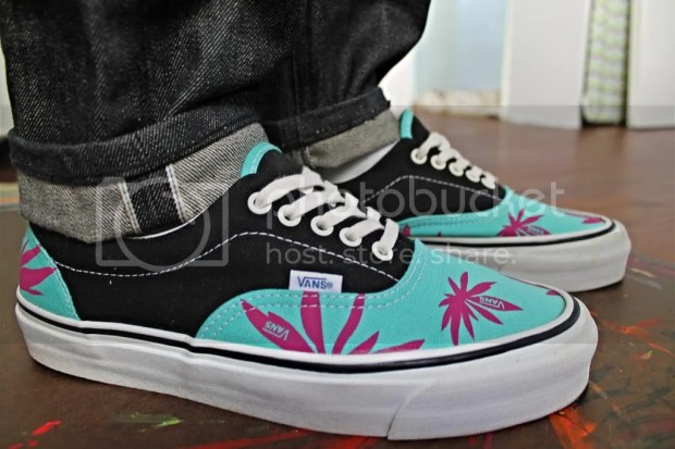 tmrsn - Vault OG Era LX Palm Leaf - Pool Blue/Black