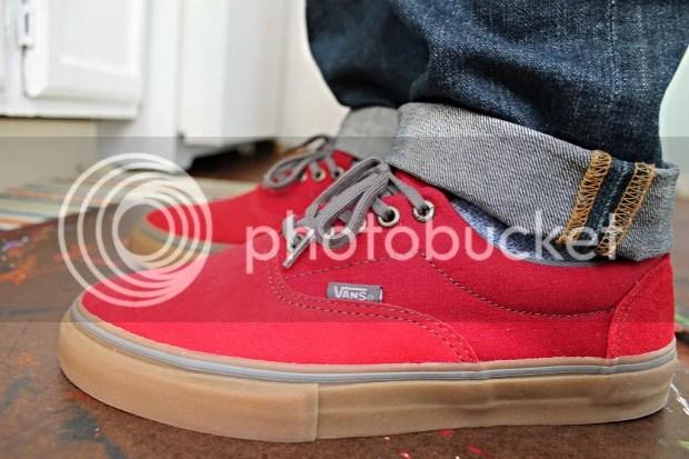 tmrsn - Vans - Era Pro - Rio Red/Gum