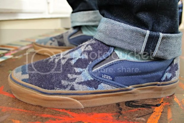 tmrsn - All Nations Skate Jam x Pendleton - Slip-On