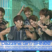 SHINee 'Dazzling Girl' японы NTV - гын  'Happy Music' нэвтрүүлэг дээр