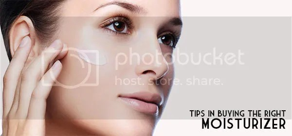Tips In Buying The Right Moisturizer