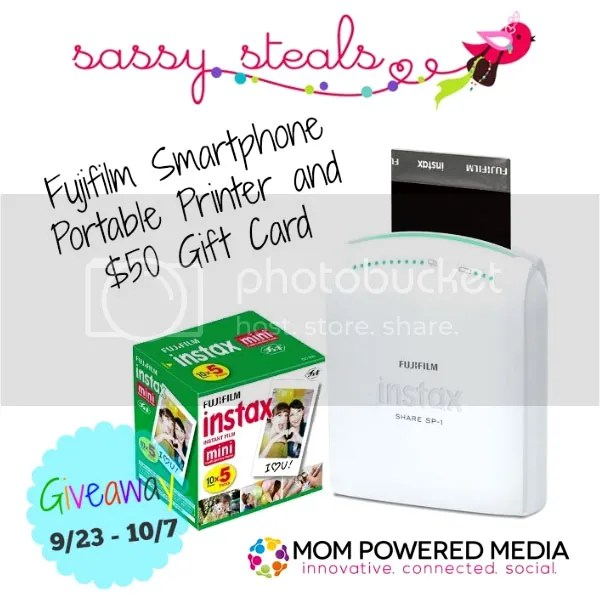 Fujifilm Instax Share Smartphone Printer And $50 Sassy Steals Giveaway