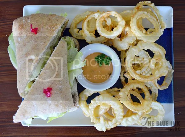Onion and Beef Sandwich - Yummy Cupcakes and Sandwiches at Bacolod Cupcake Cafe, Inc.