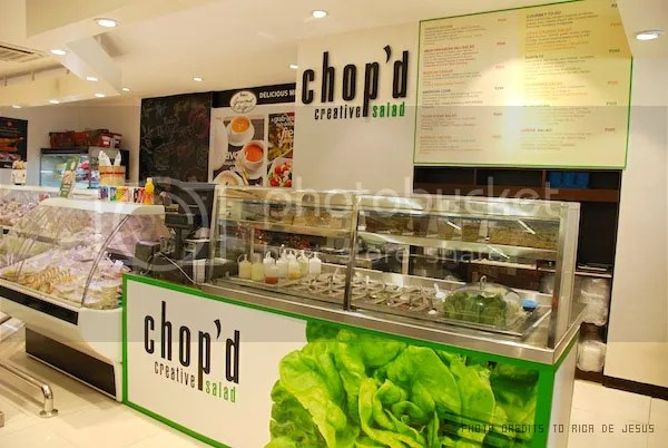 Healthy Salads With A Twist At Chop'd Creative Salad