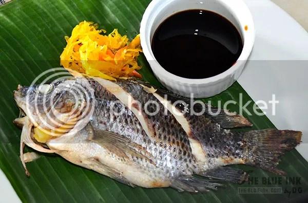 Pinaputok na Tilapia - Delicious Native Dishes at L'Fisher Chalet Restaurant