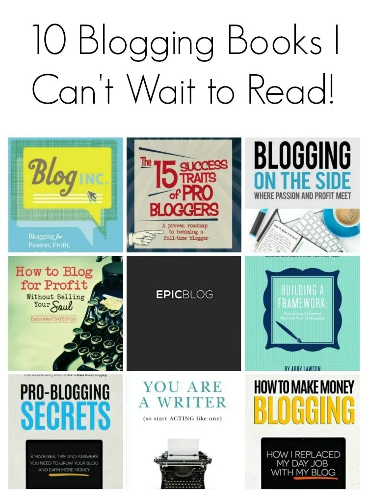 10 Blogging Books I Can't Wait to Read