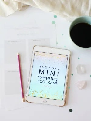 7 Day Mini Manifesting Bootcamp