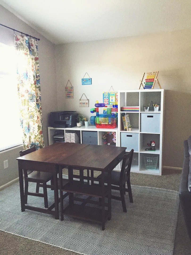 I Am SO Happy With Not Only Creating A Homeschool Area, But Also For  Investing In Desks That Are Made For Young Children. I Literally Stand  There Sometimes ...