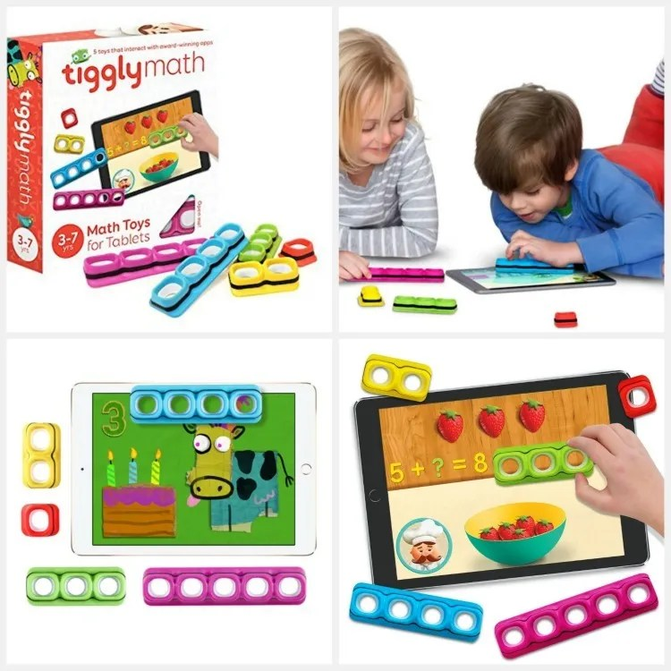 Tiggly Math - educational gift guide for preschoolers