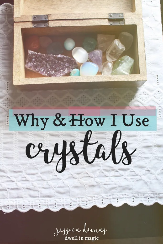 How I use crystals in my sacred self-care routine