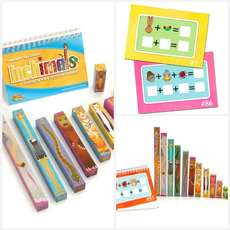 Fat Brain Toys: Inchimals - educational gift guide for preschoolers