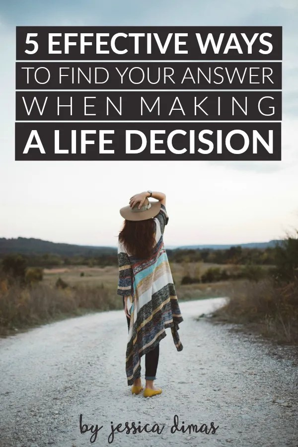 5 unique but effective ways to find your answer when making a life decision - and one thing you SHOULDN'T do
