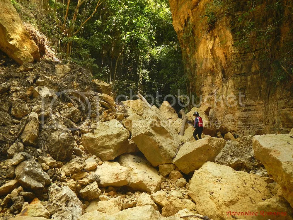 Canyoneering at Badian