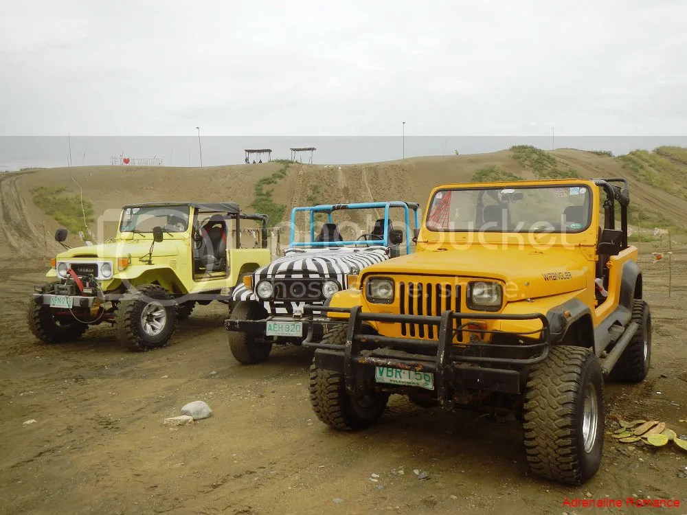 4X4 in La Paz Sand Dunes