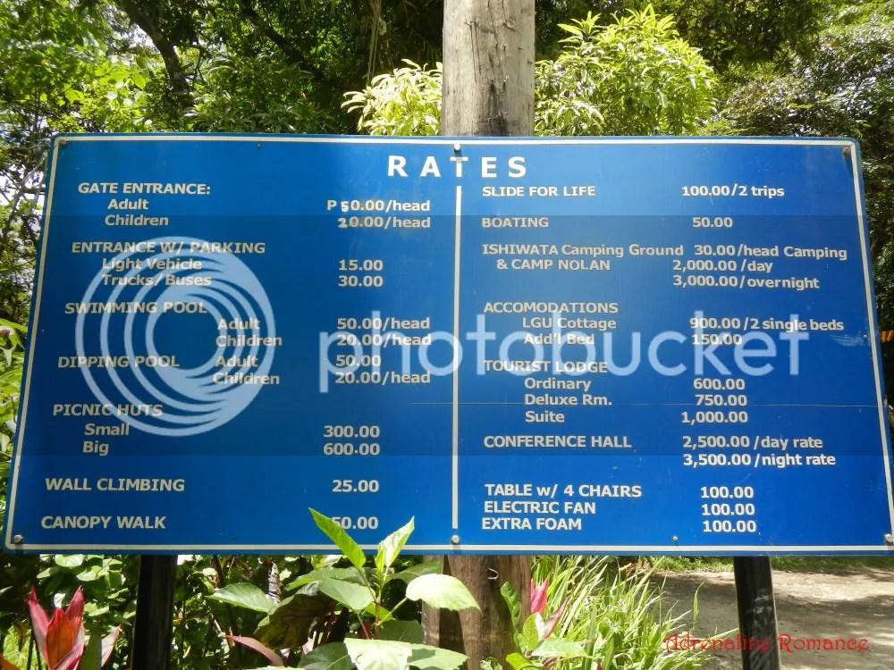 Mambukal Resort Rates