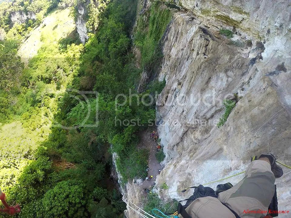 Vertical Bivouac at Kiokong White Rock Wall