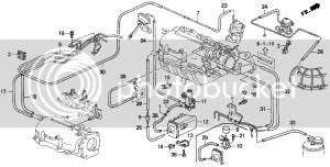 2001 Prelude Vacuum diagram and vacuum box problem please