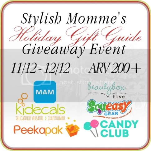 Stylish Momme Holiday Gift Guide #Giveaway Event