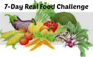 7 day real food challenge Mary's healthy meals