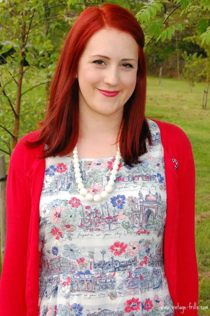 Cath Kidston, Brighton Dress, Brighten up Your Day Dress