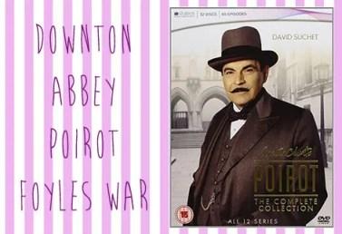 Poirot, Downton Abbey, Foyles War   Vintage Frills