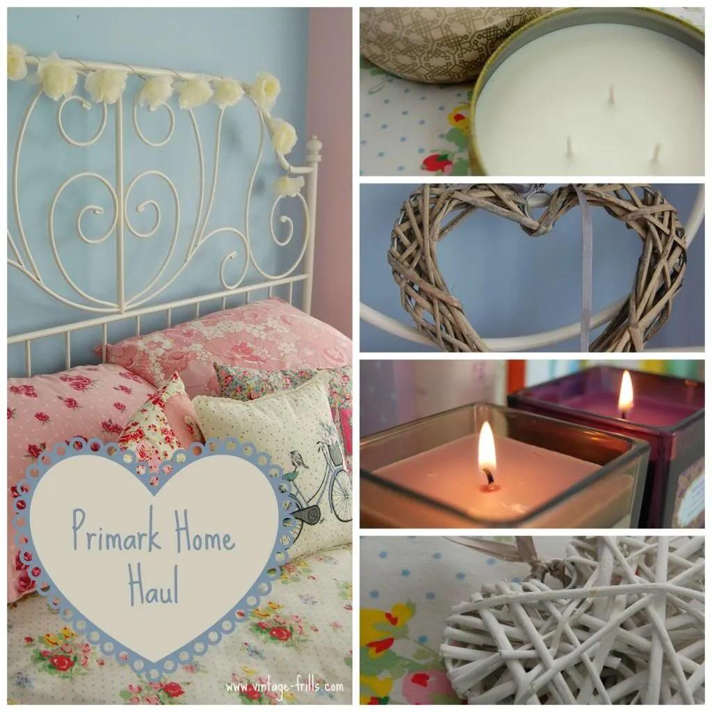 home primark A Little Primark Home Haul Vintage Frills