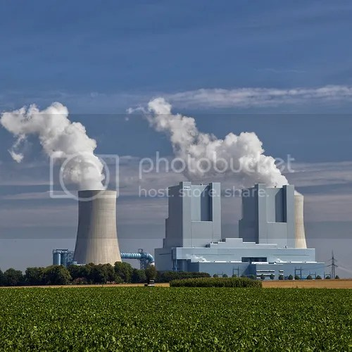 German Neurath new technology coal fired plant