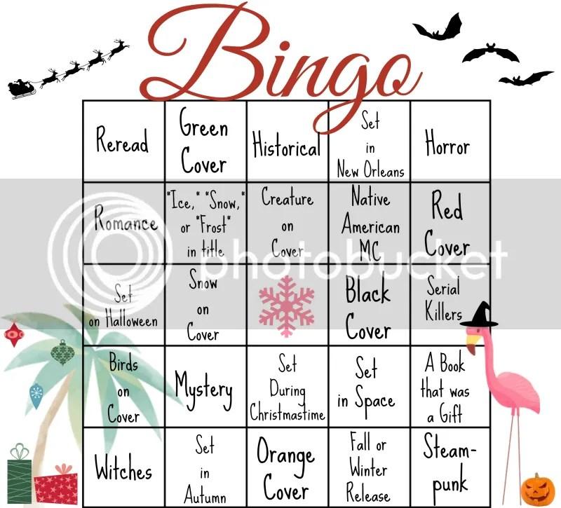 Holiday Edition Bingo Card