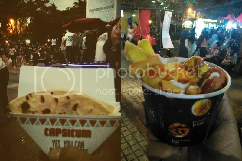 Capsicum's Quesadilla and Crispybar's Mixed Snack at Keuken Bandung 2016 | Hola Darla
