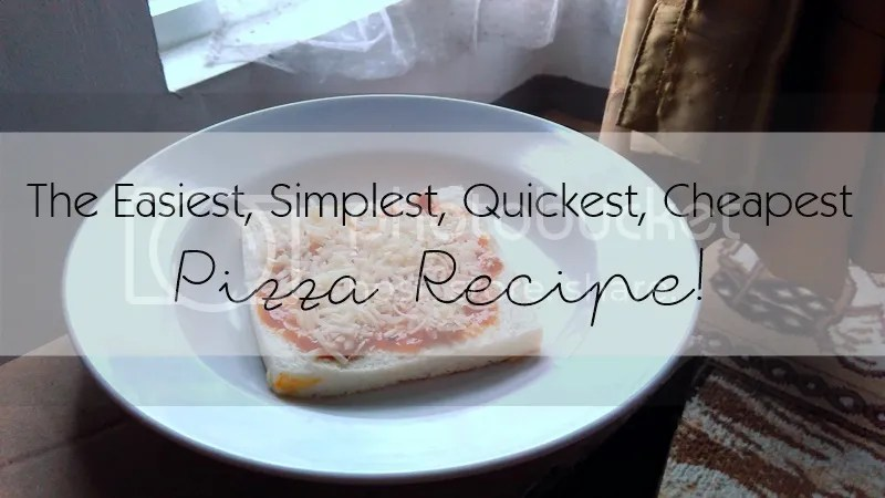 The Easiest, Simplest, Quickest, Cheapest Pizza Recipe | Hola Darla