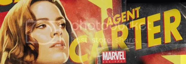 Marvel's Agent Carter Old School Poster