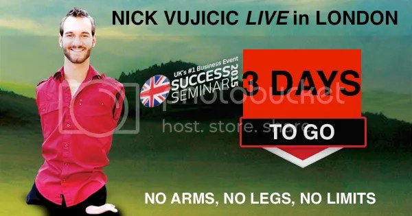 Nick Vujicic LIVE in London