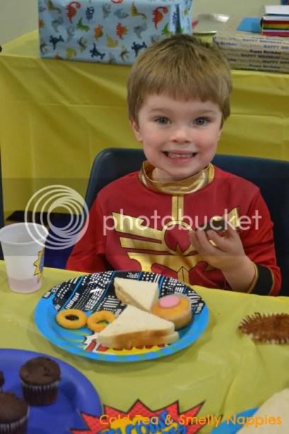 Superhero Party - Birthday Boy