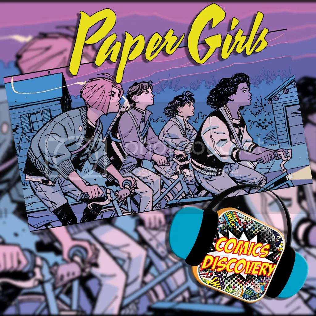 ComicsDiscovery : Paper Girls