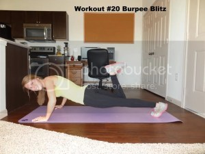 Workout #20 Burpee Blitz