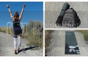 Aurorae Yoga Mat, Backpack & Racerback Tank Product Review