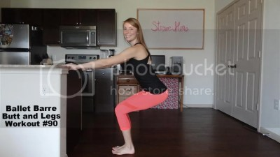 Ballet Barre Workout - Butt and Legs