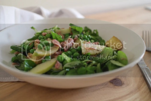 photo Pea Apple and Ham Hock Salad 5_zps7j2fty60.jpg